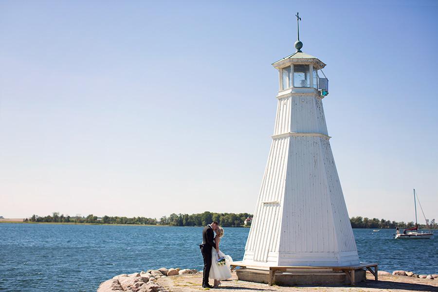 Bröllopsfotograf i Vadstena; Emmy & Martin