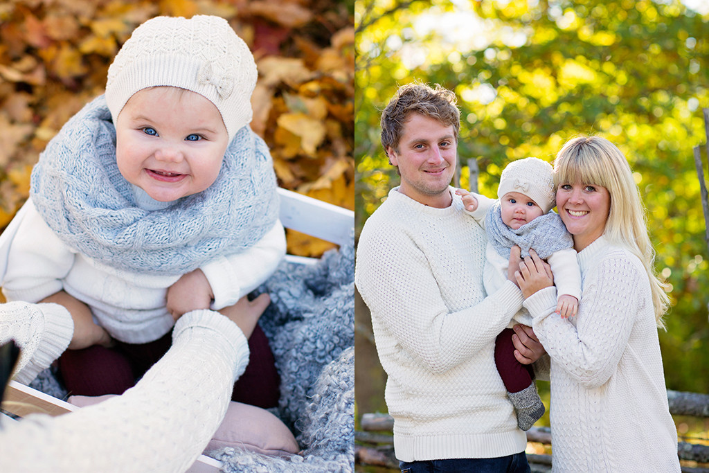 familjefotografering höstfotografering