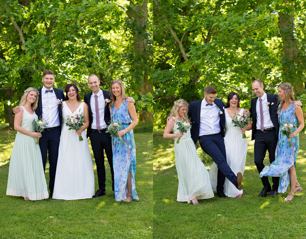 gruppbild bröllopsfotograf emmelifoto