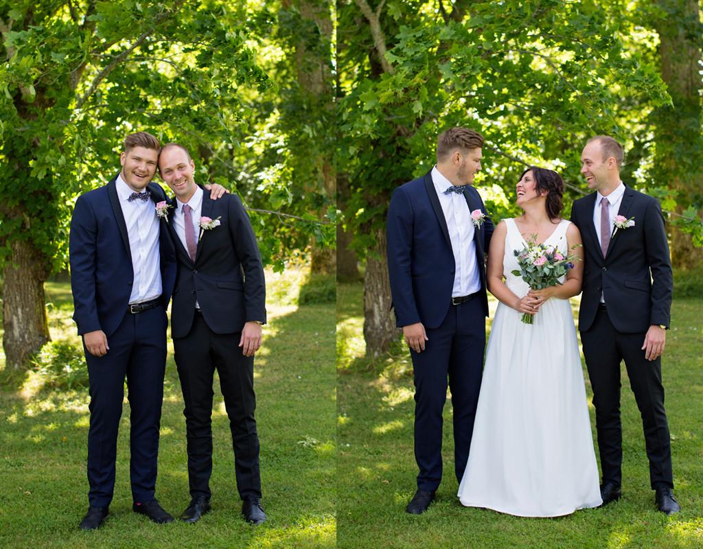 gruppbilder bröllopsfotograf emmelifoto