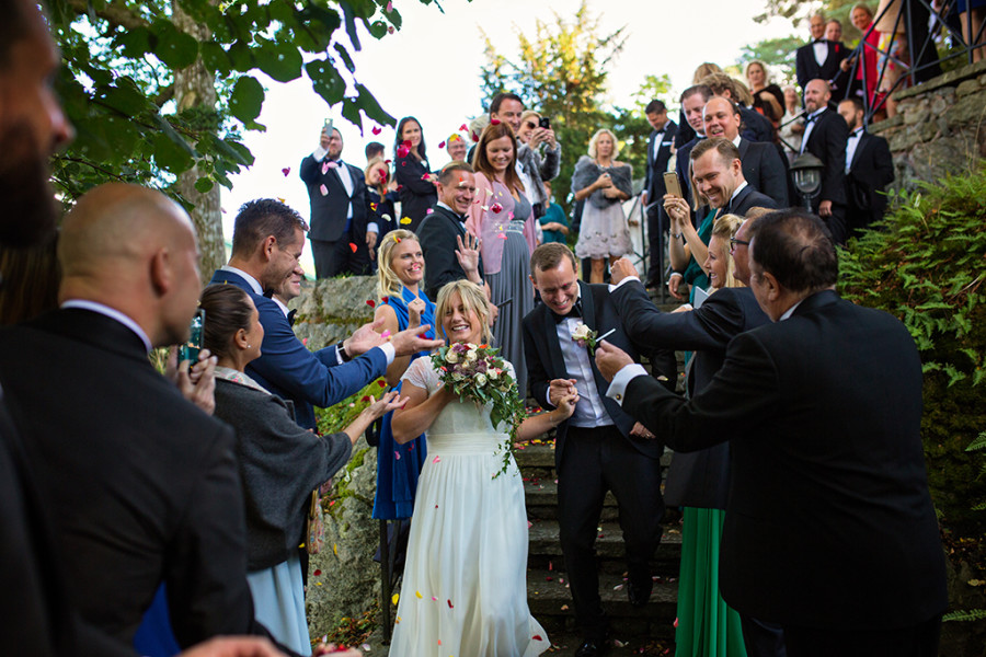 Bröllopsfotograf Särö; Helena och Alexander