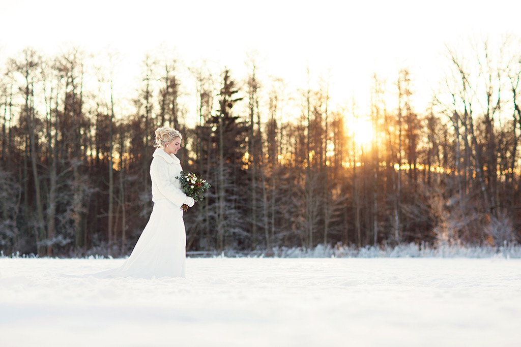 bröllopsfotograf emmelifoto vinterbröllop