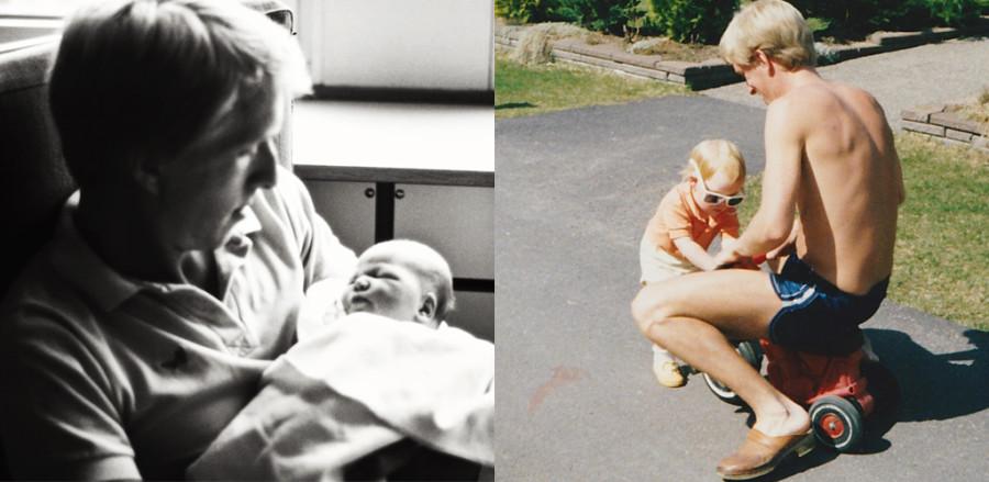 Grattis pappa; vilka bilder värderar jag 30 år senare?
