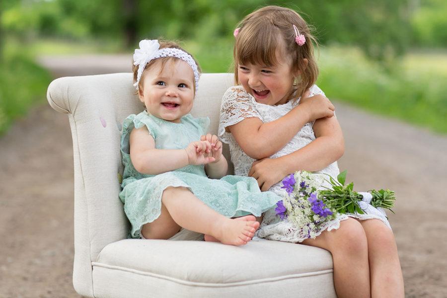 Barnfotografering under ett helt år