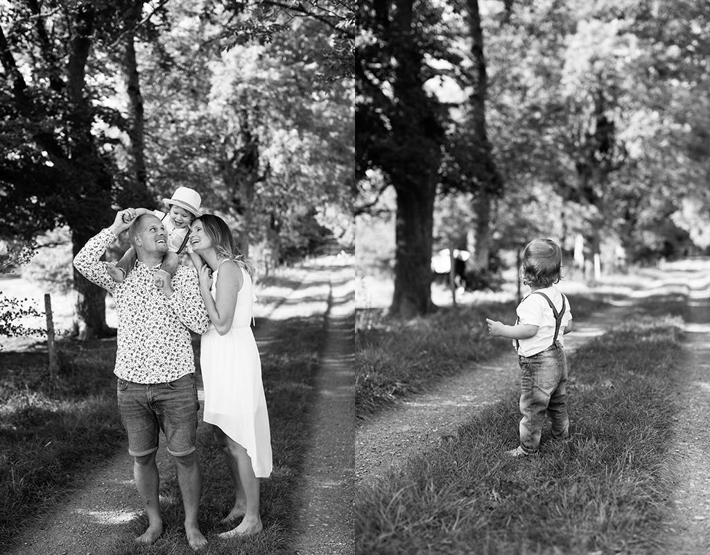 familjefotografering utomhus barnfotografering sommar fotograf Linköping Örebro Norrköping