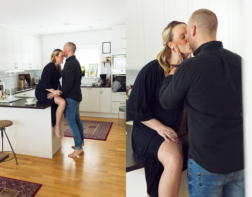 Emmelifoto gravidfotografering hemma gravid 2018 bf 2018 fotograf Örebro fotograf Linköping fotograf Norrköping