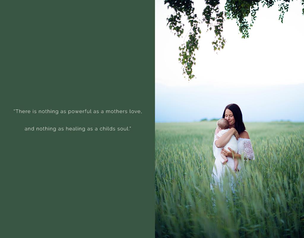 BeYOUtiful-fotografering utomhus på en äng