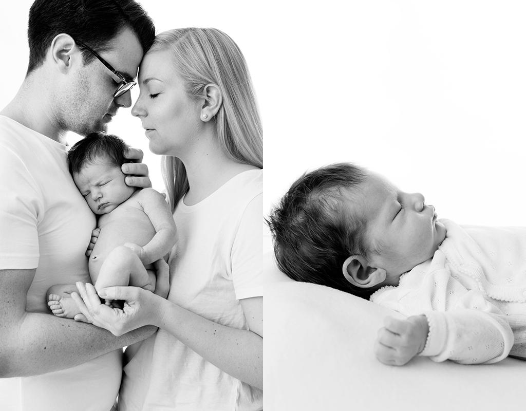 Nyföddfotografering med superbra förberedelser