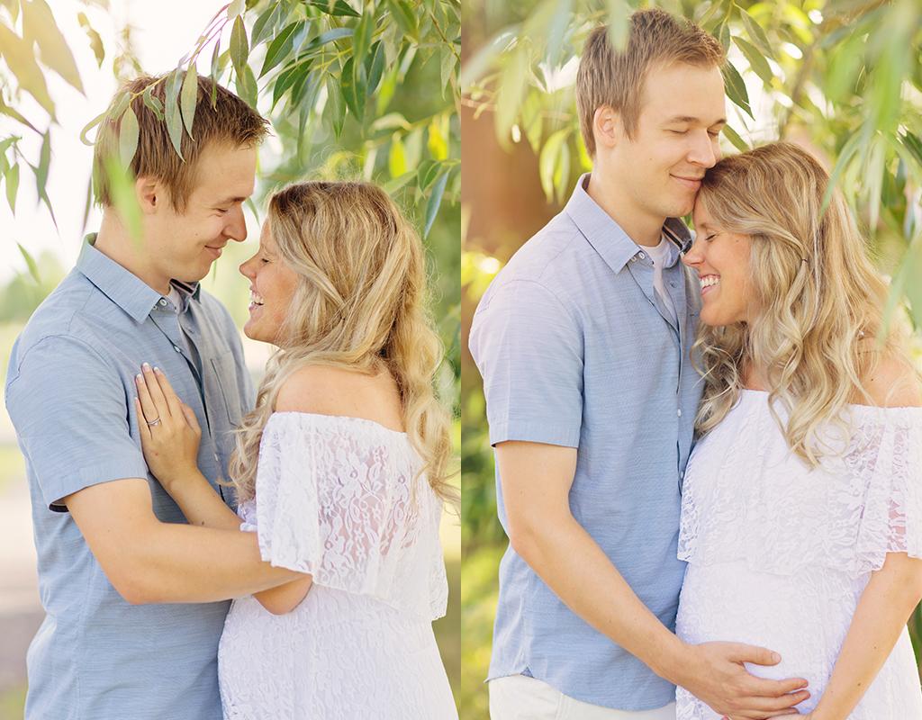 När ens kollega är gravid och det är dags för gravidfotografering